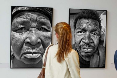 South Africa in the 1970's at London's Guardian Gallery.